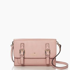NWT Kate Spade Leather Crossbody Bag Pink
